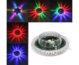 Disco-Licht LED-Sonnenblume