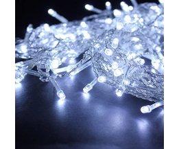 Weiß Led Vorhang Mit 224 Leuchten