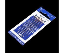 Leder Nadeln Sewing Set (6 Stück)