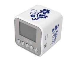 NiZHi Tragbare Mini-MP3-Player USB-Micro-SD-TS Mit FM Radio
