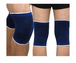 Kniebandage Blau