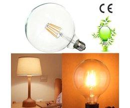 Edison-Glühlampe Sphärische