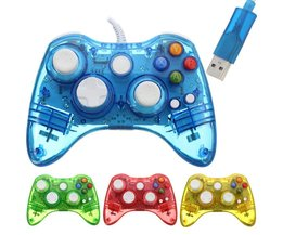 USB Xbox 360 Controller Luminous