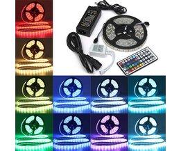 Wasserdichte RGB-LED-Streifen Mit 300 Bunte 5M