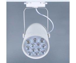 Schienen-Beleuchtung Weiße LED 12W