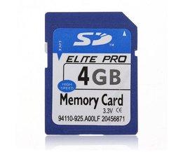SD Card 4GB