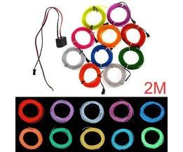 Seil-Licht 10 Farben