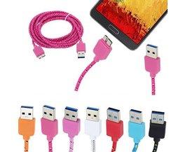 Geflochtene USB-Kabel Für S5 Und Anmerkung 3