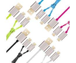 LENUO Dual-Micro-USB-Kabel