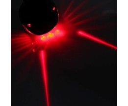 Fahrrad Hinten LED-Laser-Licht