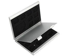 Aluminium-Aufbewahrungsbehälter Für SD-Karten