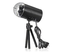 RGB LED-Disco-Lichter 3W