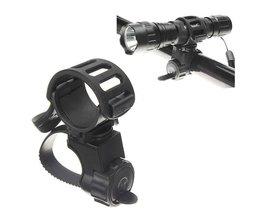 Fahrradhalter 360 Grad Für Taschenlampe