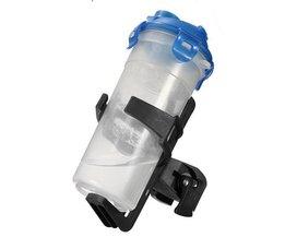 Verstellbarer Flaschenhalter Mit Klipp Für Fahrrad