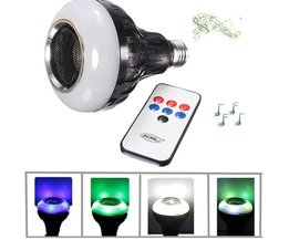 Lampe Mit Bluetooth-Lautsprecher