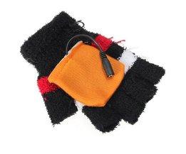 USB Heizung Handschuhe Ohne Fingerkuppen.