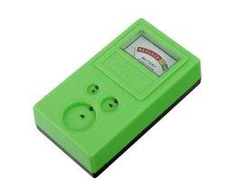Knopfzellen-Batterie-Tester