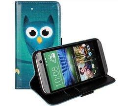 Owl-Schlag-Abdeckung Fall Für HTC Eins M8
