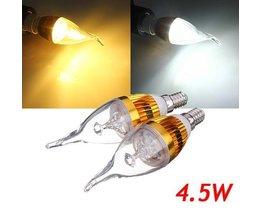 LED Kerzenlampe E14 (4.5W)