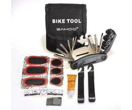 Umfangreiche Reparatursatz Für Fahrrad