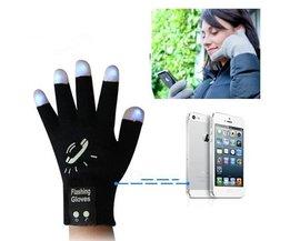 Luminous Touchscreen Handschuhe