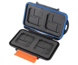 Wasserdichte Anti-Shock Box Micro SD-Karte