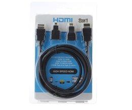 HDMI Zum Mikro-HDMI Und Mini-HDMI