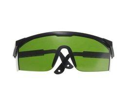 Grüne Goggles