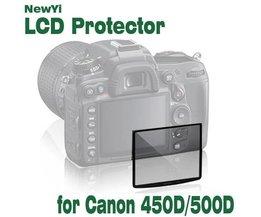 Glas-Schirm-Schutz Für Canon EOS 450D / 500D