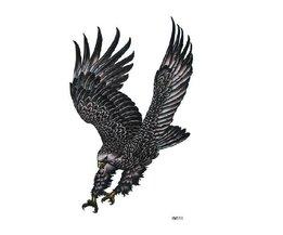 Temporäre Tätowierung Adler