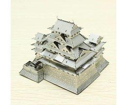 3D-Puzzle Von Himeji Castle
