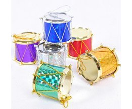 Weihnachtsdekoration Drums 6 Stück