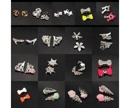 Nagel-3D-Steine für Nagel-Kunst-Dekoration (10 Stück)
