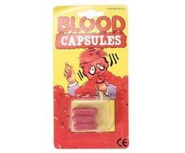 3 Fake Blood Kapseln Für Feste Und