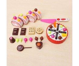 Spielzeug-Kuchen-Set
