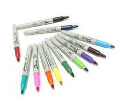 Farbige Permanent Marker (12 Stück)