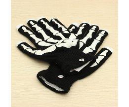 Halloween-Handschuhe Mit LED