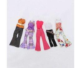 5 Sets Lässige Kleidung Barbie