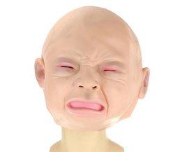 Maske Weinen Frau Oder Kind