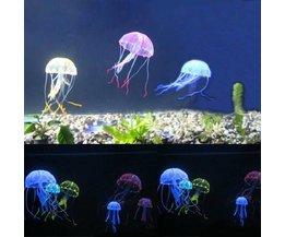 Quallen Aquarium Dekoration