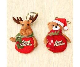Weihnachtsdekorationen Tiere Hanger 2 Stück