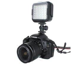 LED-Videoleuchte Für Canon Und Nikon