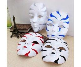 Venezianische Maske Mit Streifen