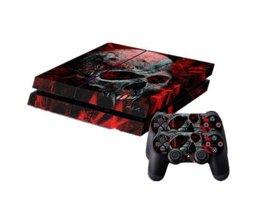 Vampirs-Schädel-Aufkleber Für PS4