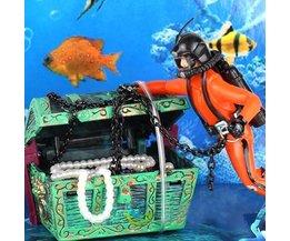 Aquarium Dekoration Diver