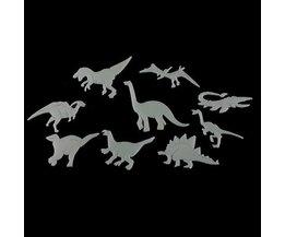 Glow In The Dark Dinosaurier-Aufkleber