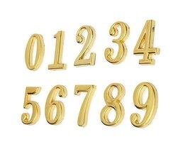 Gold House Nummernschild