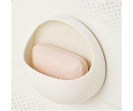 Kunststoff-Seifenschale Mit Saugnapf