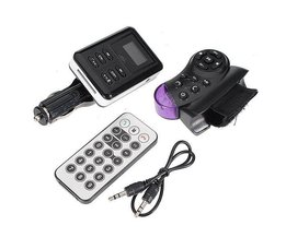 Bluetooth Car Kit FM Transmitter MP3