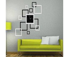 Wohnzimmer-Dekoration-Aufkleber-Taktgeber